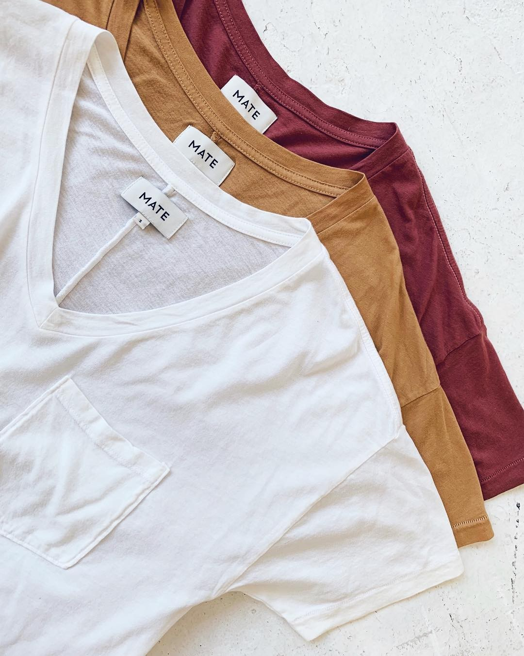 Our Tencel tees …