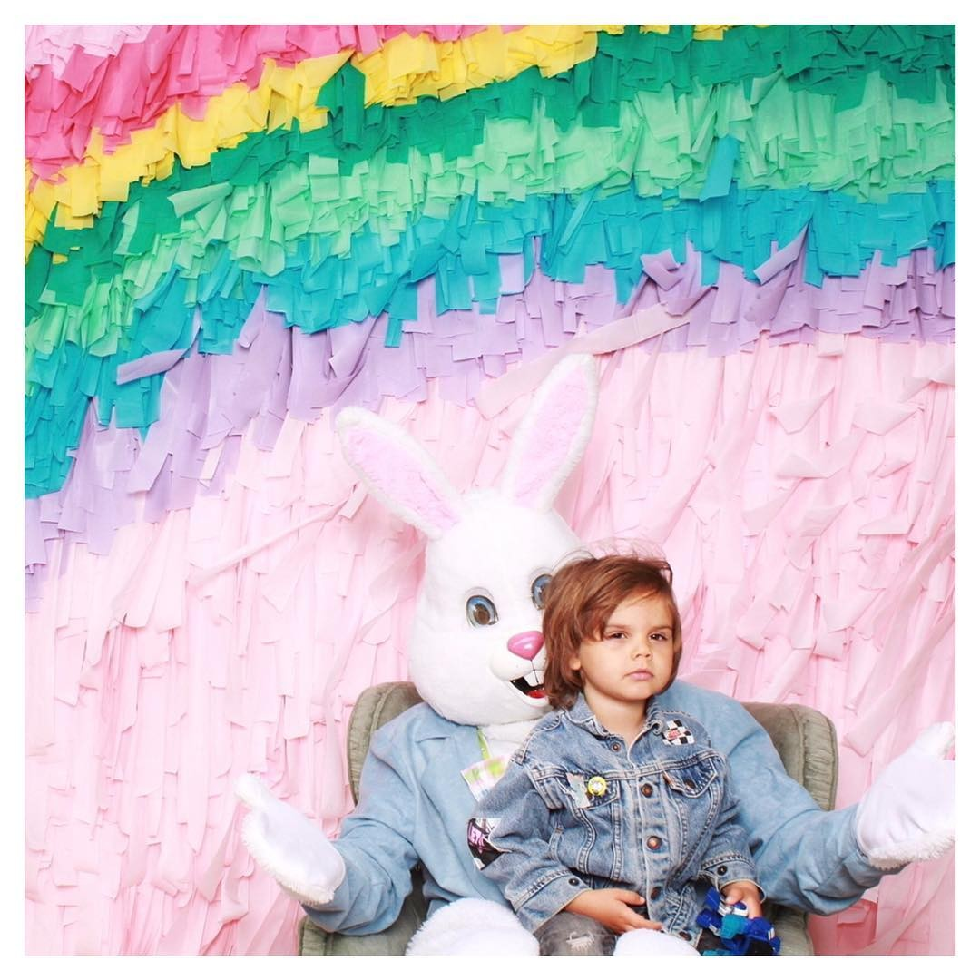 Happy Easter! 🌈🌷🐰🐣 …