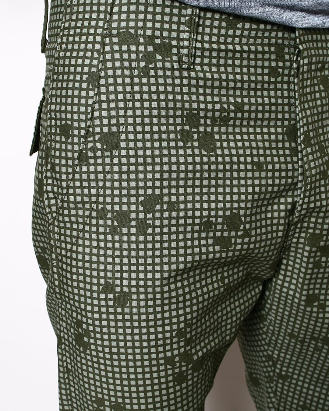 Grid Camo sateen …