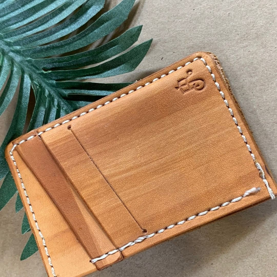 Leather wallets …