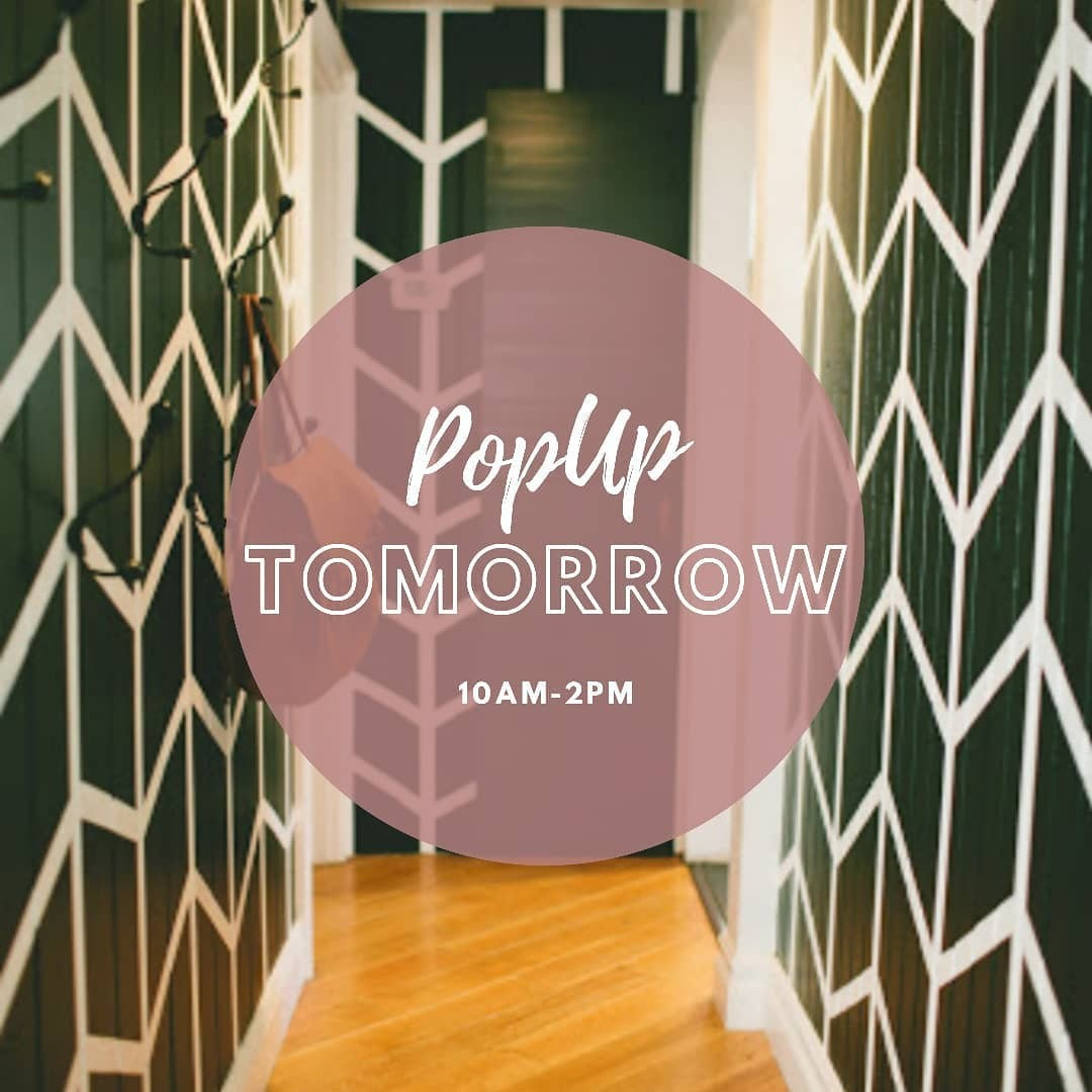 Tomorrow from 10am-2pm …