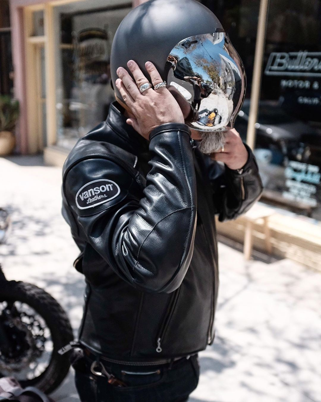 Proof that leather …