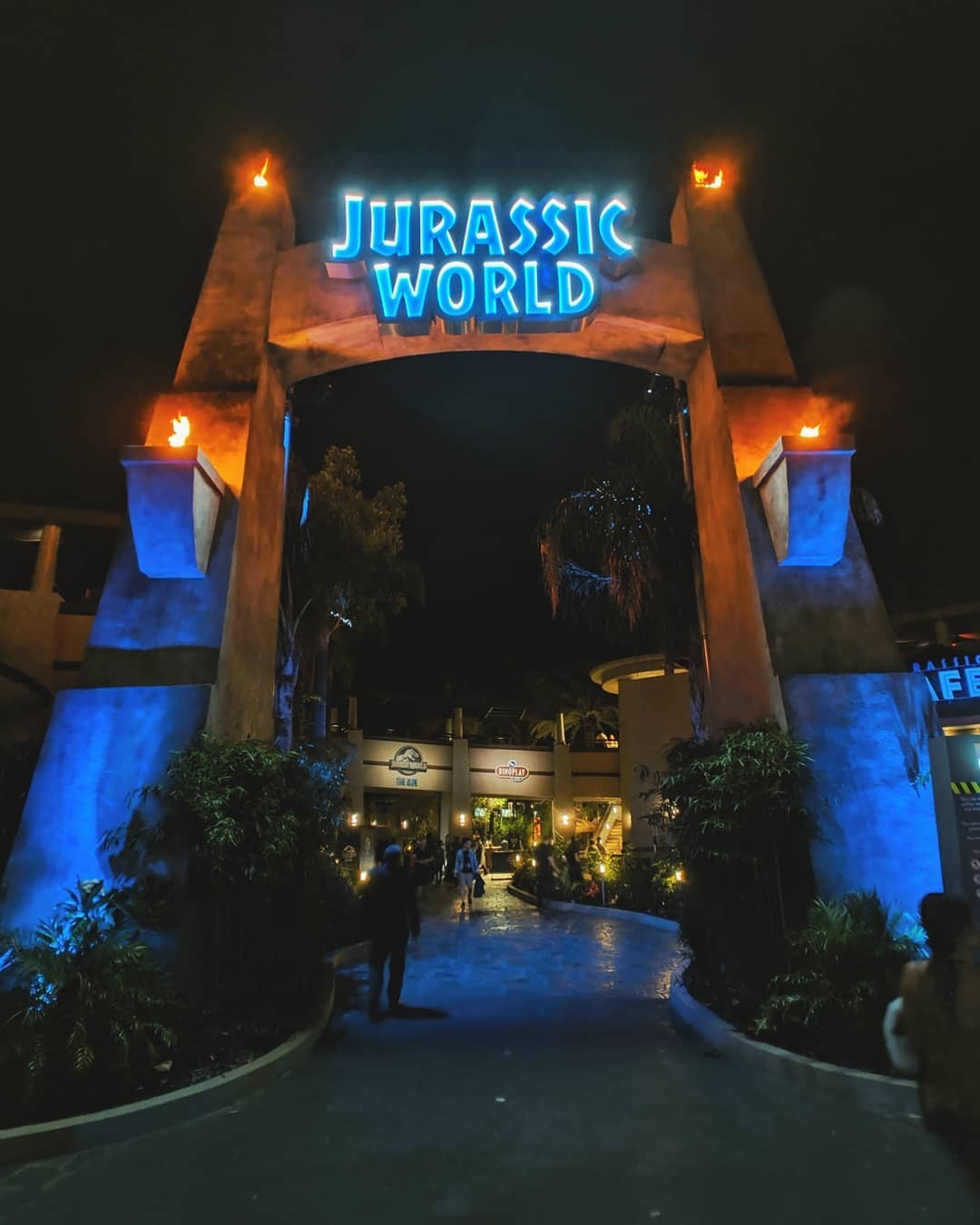 Welcome to Jurassic …