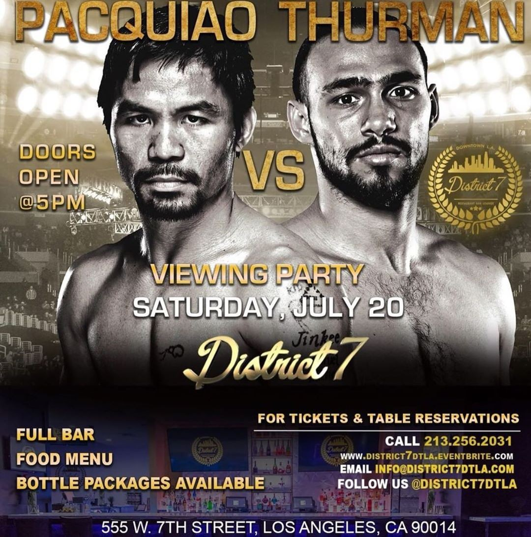 Come watch the fight …