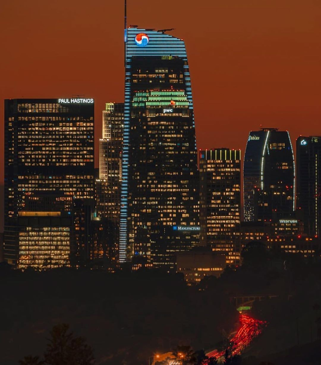 LA by night or day? …