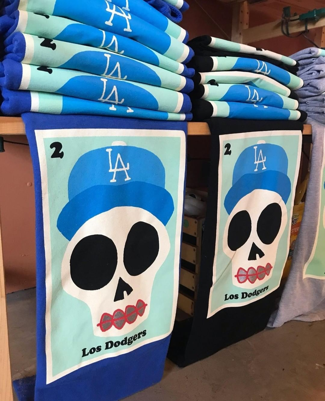 Support the #LADodgers …