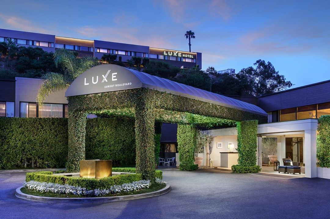 The @luxesunsetblvdhotel …