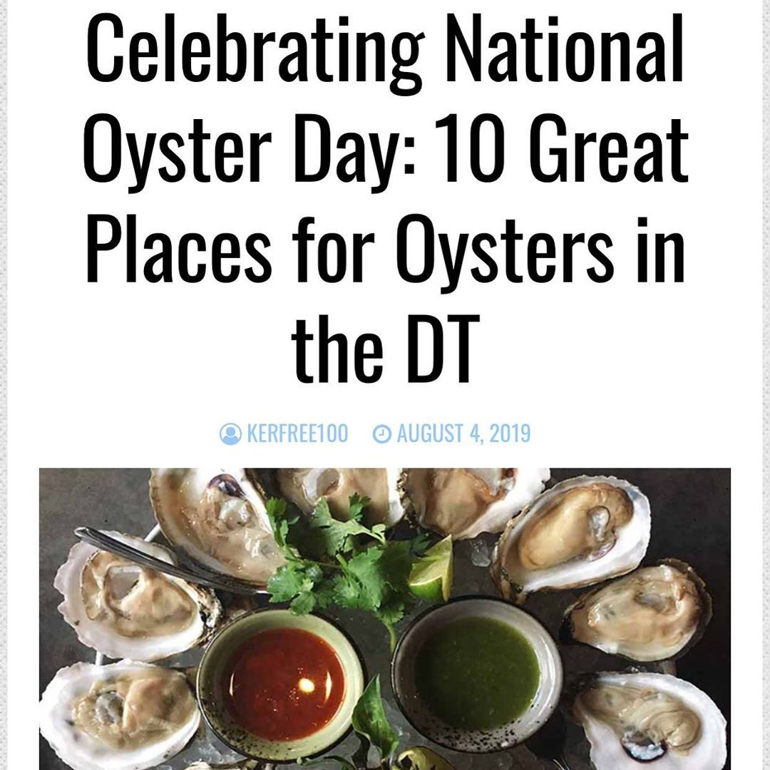 How to eat 100 oysters …