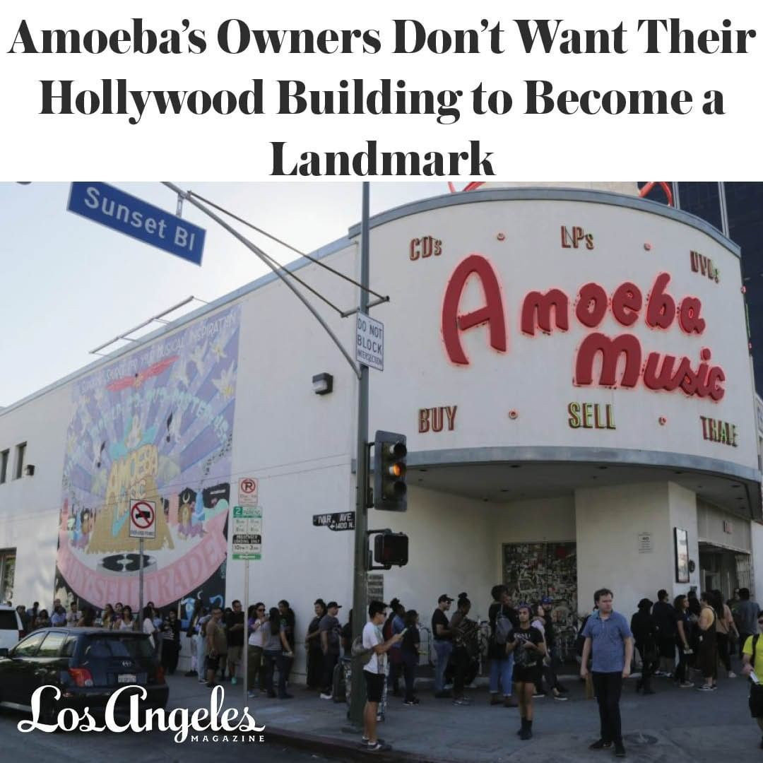 #AmoebaMusic co-owner …