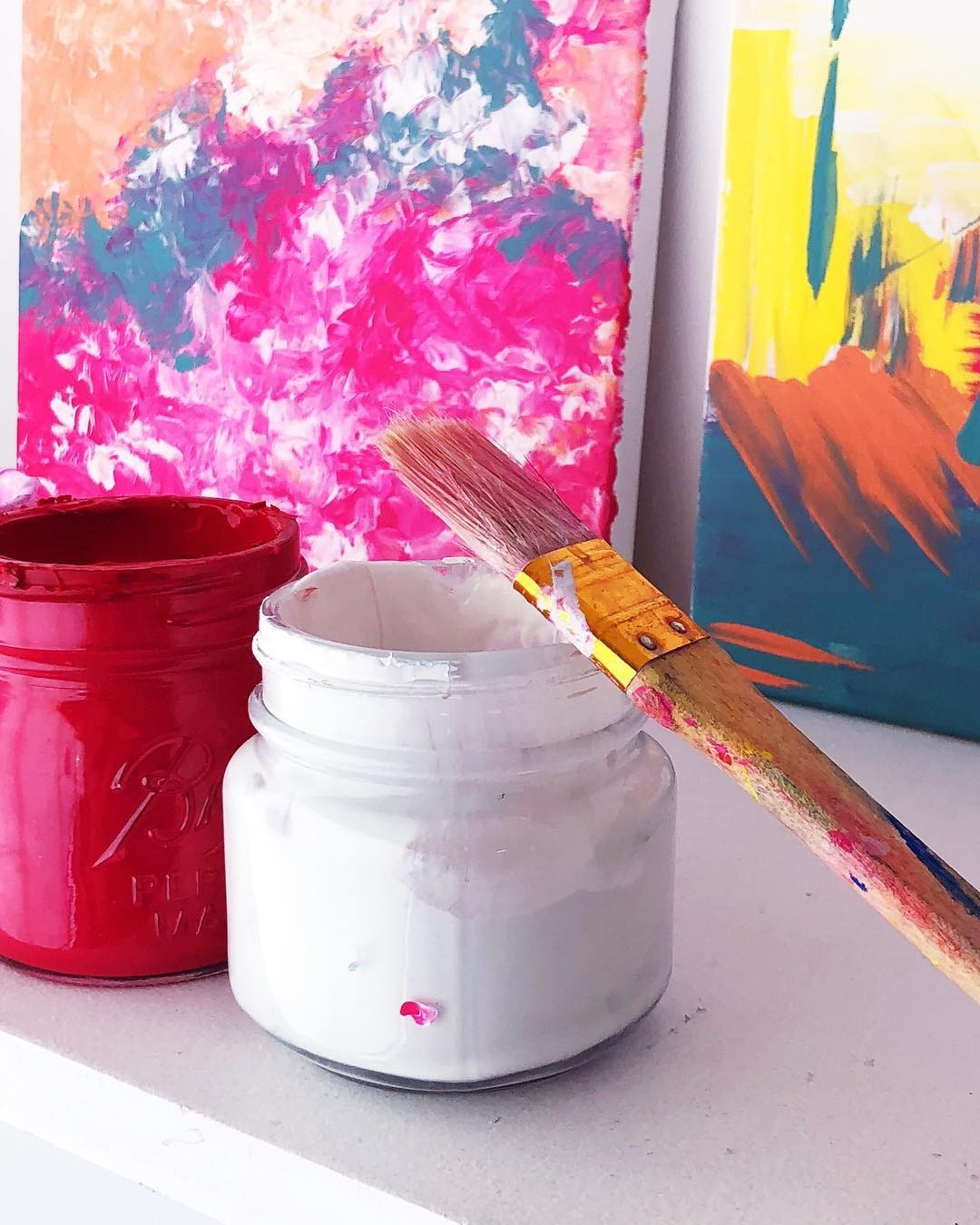 Painting without rules! …