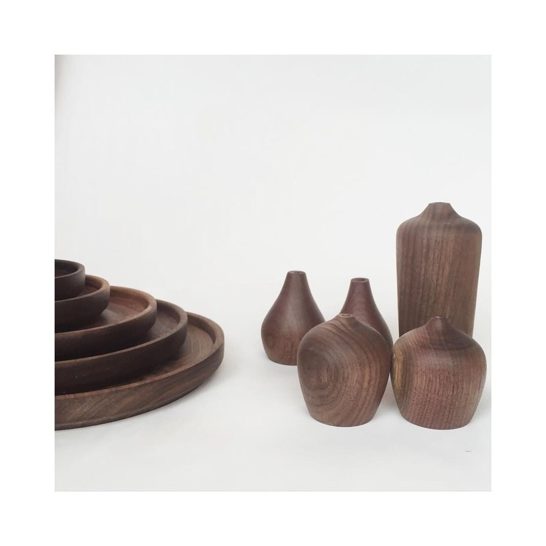 Beautiful walnut pieces …
