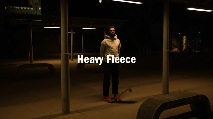 Our heavy fleece is …